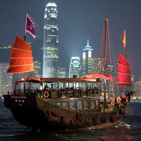 Aqua Luna Victoria Harbour Cruise   Book Tickets   kitmytrip