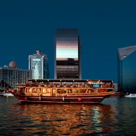 Dhow Cruise Dinner | Dubai Creek | KitMyTrip