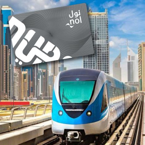 Dubai Metro & Bus NOL Card