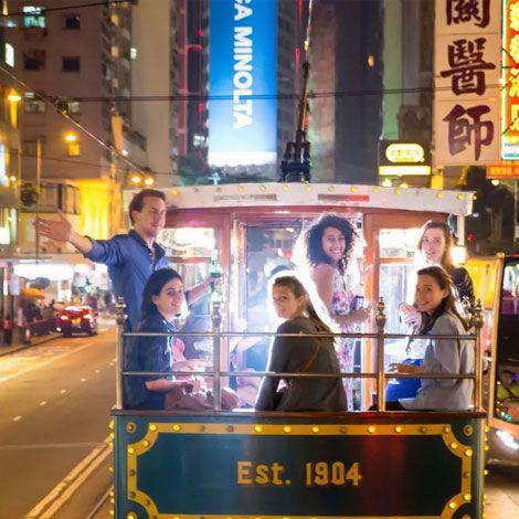 Hong Kong Tram Party   Book Tickets   kitmytrip