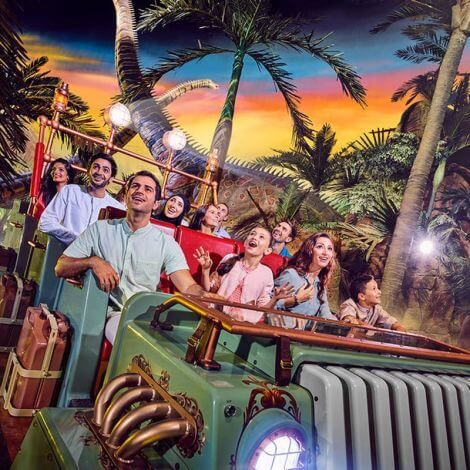 IMG World of Adventure Dubai | Book Tickets | KitMyTrip