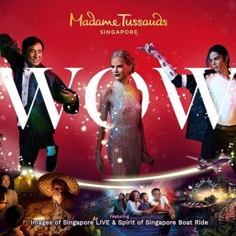 Madame Tussauds Singapore   Book Tickets   KitMyTrip