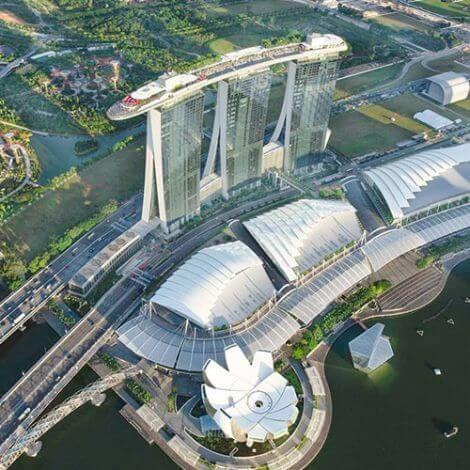Marina Bay Sands Skypark Observation Deck   Book Tickets   KitMyTrip